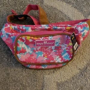 New Simply Southern TieDye Fanny Pack